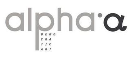 ALPHA'A DEMOCRATIC ART