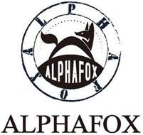 ALPHAFOX ALPHAFOX ALPHAFOX