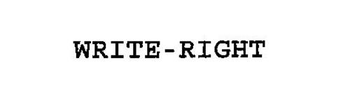 WRITE-RIGHT