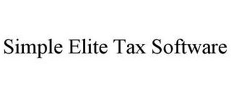 SIMPLE ELITE TAX SOFTWARE