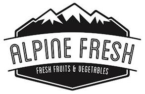 ALPINE FRESH FRESH FRUITS & VEGETABLES