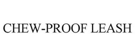 CHEW-PROOF LEASH