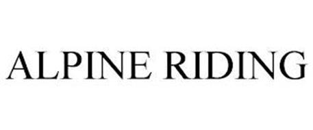 ALPINE RIDING