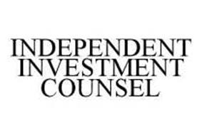INDEPENDENT INVESTMENT COUNSEL