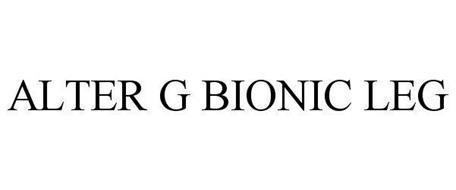 ALTER G BIONIC LEG