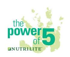 THE POWER OF 5 NUTRILITE