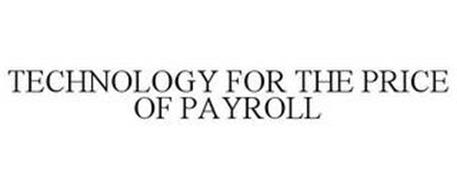 TECHNOLOGY FOR THE PRICE OF PAYROLL