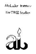 ALTSHULLER INSTITUTE FOR TRIZ STUDIES AI