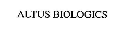 ALTUS BIOLOGICS