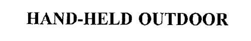 HAND-HELD OUTDOOR