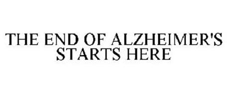 THE END OF ALZHEIMER'S STARTS HERE