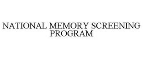 NATIONAL MEMORY SCREENING PROGRAM