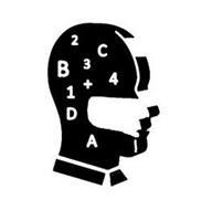 1 2 3 4 A B C D +