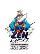ZEN MASTER RESIN & ODOR ELIMINATOR PIPE & HOOKAH SMOKE CLEANER