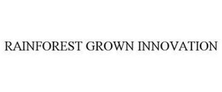 RAINFOREST GROWN INNOVATION
