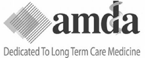 AMDA DEDICATED TO LONG TERM CARE MEDICINE