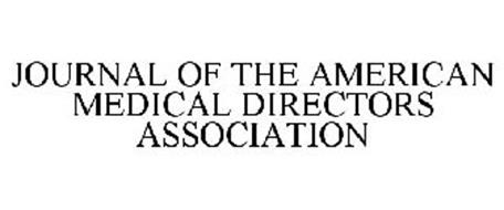 JOURNAL OF THE AMERICAN MEDICAL DIRECTORS ASSOCIATION