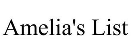 AMELIA'S LIST