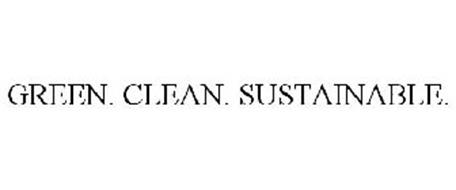 GREEN . CLEAN . SUSTAINABLE
