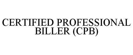 CERTIFIED PROFESSIONAL BILLER (CPB)
