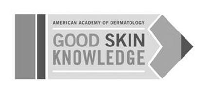 AMERICAN ACADEMY OF DERMATOLOGY GOOD SKIN KNOWLEDGE