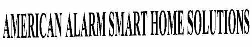 AMERICAN ALARM SMART HOME SOLUTIONS