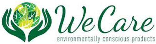 WE CARE ENVIRONMENTALLY CONSCIOUS PRODUCTS