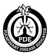 AARC PDE PULMONARY DISEASE EDUCATOR