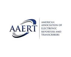 AAERT AMERICAN ASSOCIATION OF ELECTRONIC REPORTERS AND TRANSCRIBERS