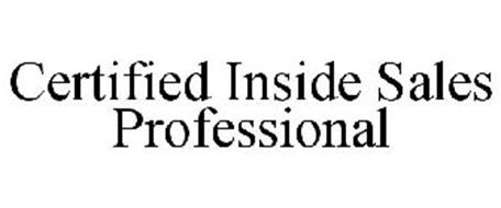 CERTIFIED INSIDE SALES PROFESSIONAL