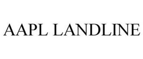 AAPL LANDLINE