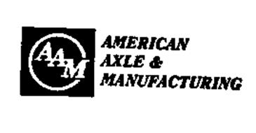 AAM AMERICAN AXLE & MANUFACTURING