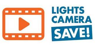 LIGHTS CAMERA SAVE!