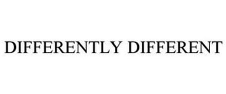 DIFFERENTLY DIFFERENT