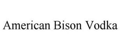 AMERICAN BISON VODKA