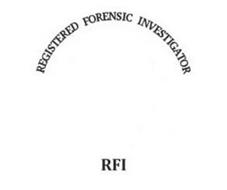 REGISTERED FORENSIC INVESTIGATOR RFI