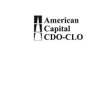 AMERICAN CAPITAL CDO-CLO