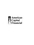 AMERICAN CAPITAL FINANCIAL