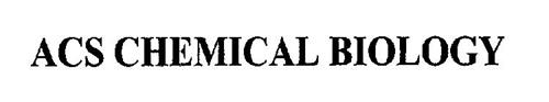 ACS CHEMICAL BIOLOGY