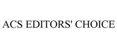 ACS EDITORS' CHOICE