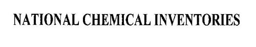 NATIONAL CHEMICAL INVENTORIES