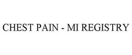 CHEST PAIN - MI REGISTRY
