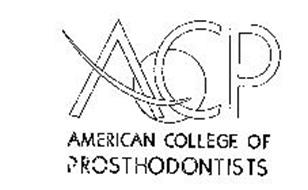 ACP AMERICAN COLLEGE OF PROSTHODONTISTS