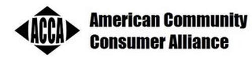 ACCA AMERICAN COMMUNITY CONSUMER ALLIANCE
