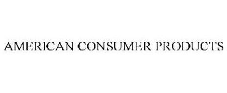 AMERICAN CONSUMER PRODUCTS