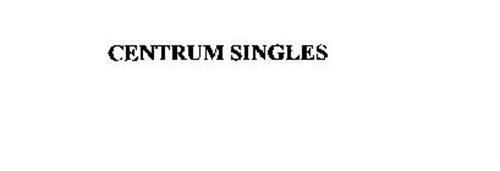 CENTRUM SINGLES
