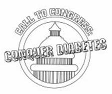 CALL TO CONGRESS: CONQUER DIABETES