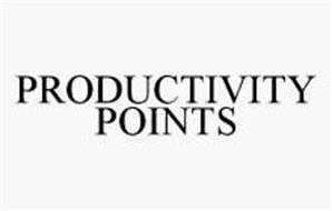 PRODUCTIVITY POINTS