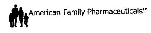AMERICAN FAMILY PHARMACEUTICALS