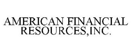 AMERICAN FINANCIAL RESOURCES,INC.